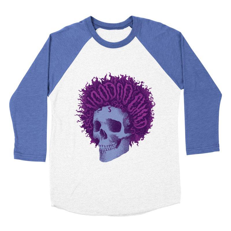 Jimi Men's Baseball Triblend T-Shirt by David Maclennan