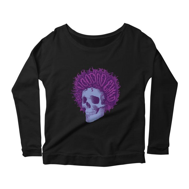 Jimi Women's Scoop Neck Longsleeve T-Shirt by David Maclennan