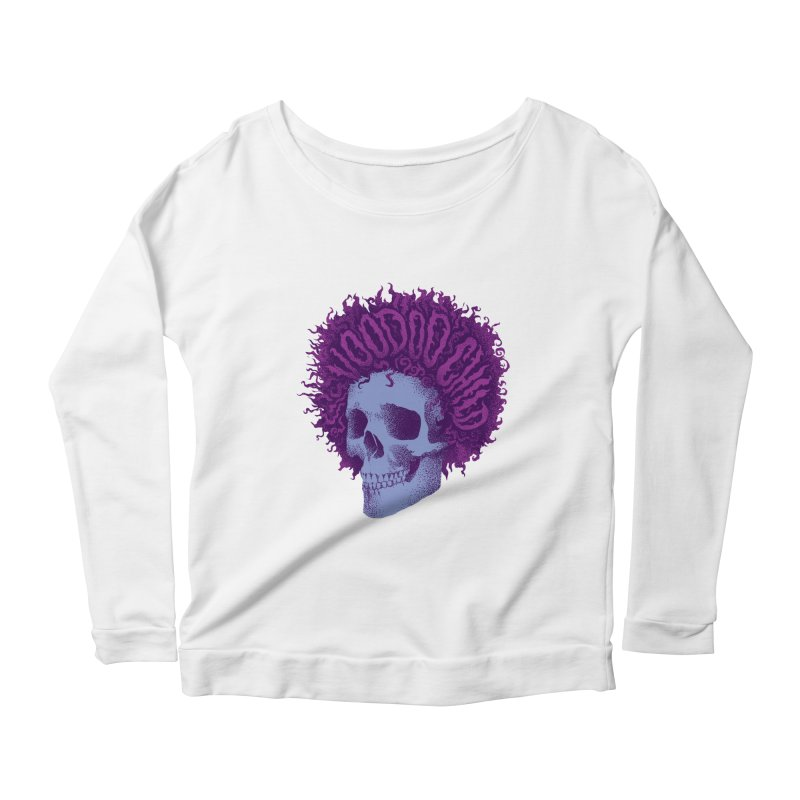 Jimi Women's Scoop Neck Longsleeve T-Shirt by David Maclennan
