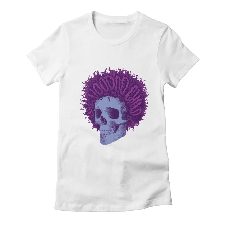 Jimi Women's Fitted T-Shirt by David Maclennan