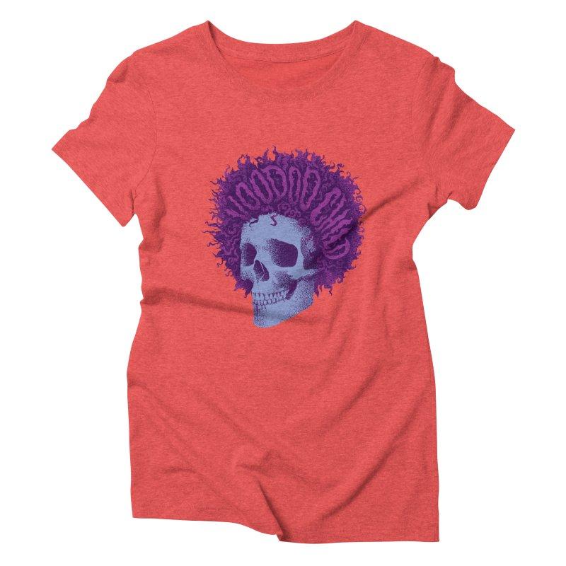 Jimi Women's Triblend T-Shirt by David Maclennan