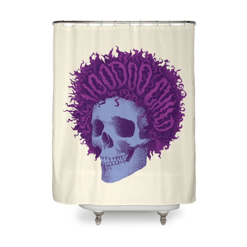 Jimi Home Shower Curtain by David Maclennan