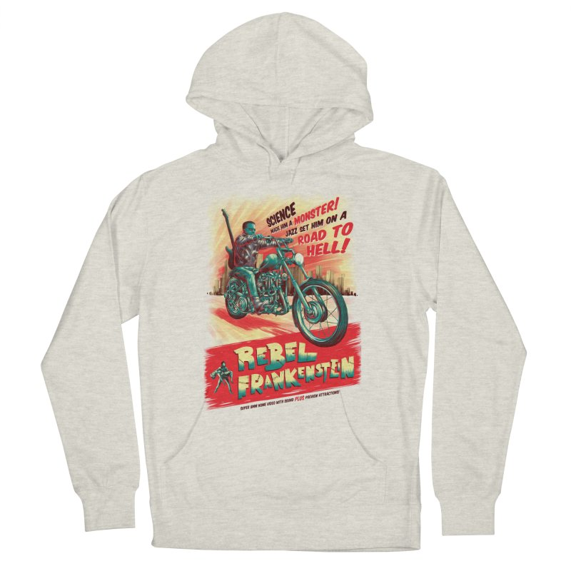 Rebel Frankenstein Men's Pullover Hoody by David Maclennan