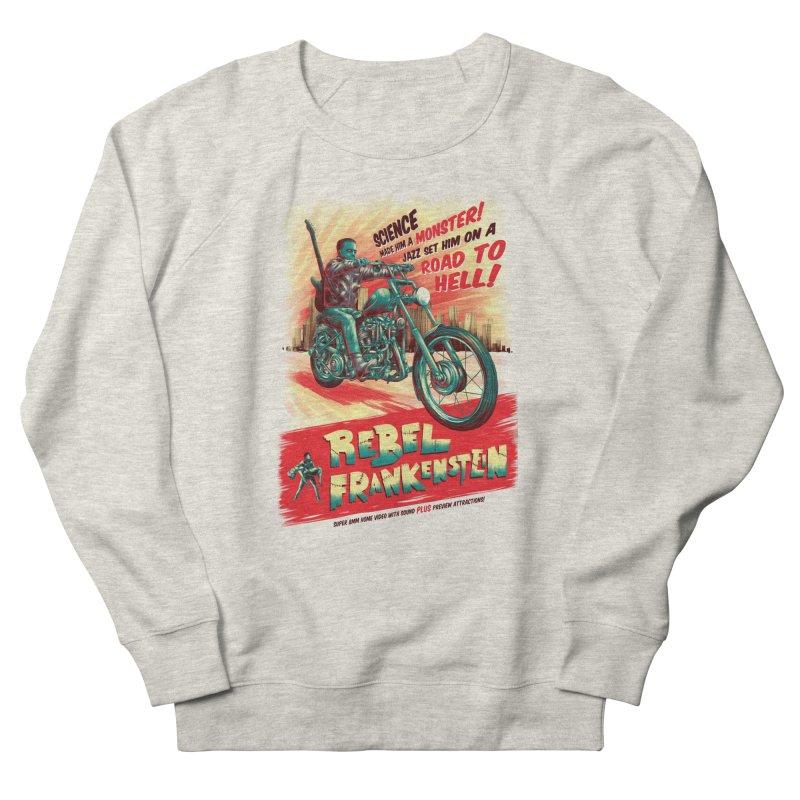 Rebel Frankenstein Men's Sweatshirt by David Maclennan