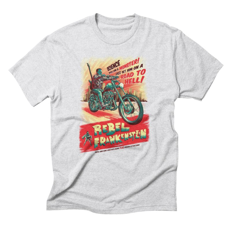 Rebel Frankenstein Men's T-Shirt by David Maclennan