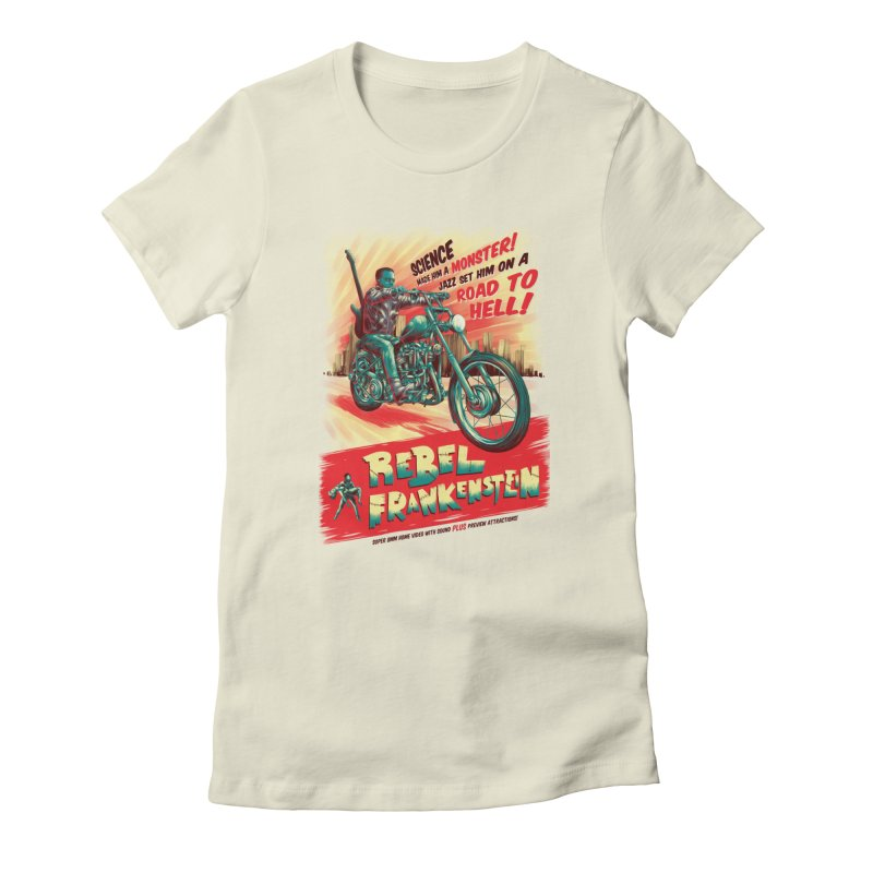 Rebel Frankenstein Women's T-Shirt by David Maclennan