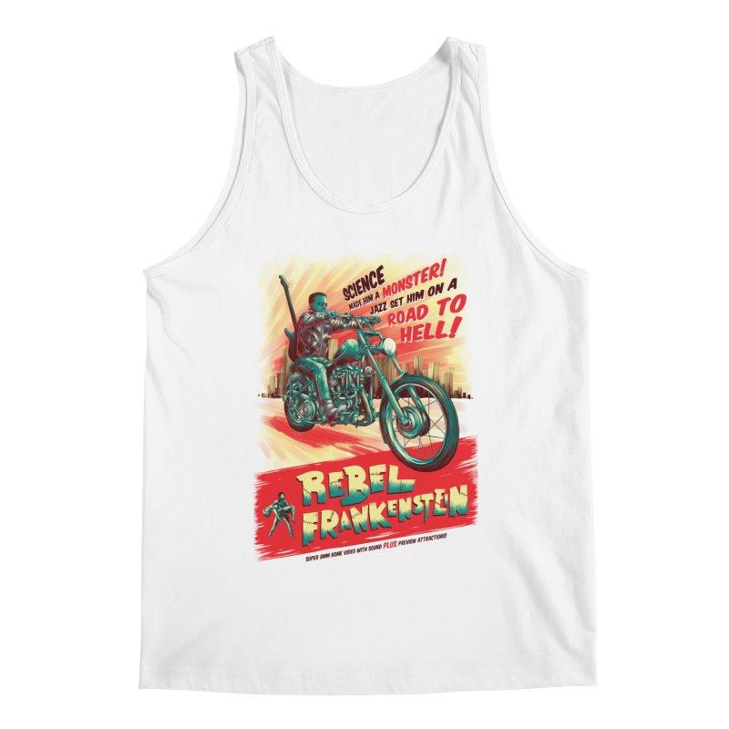 Rebel Frankenstein Men's Regular Tank by David Maclennan