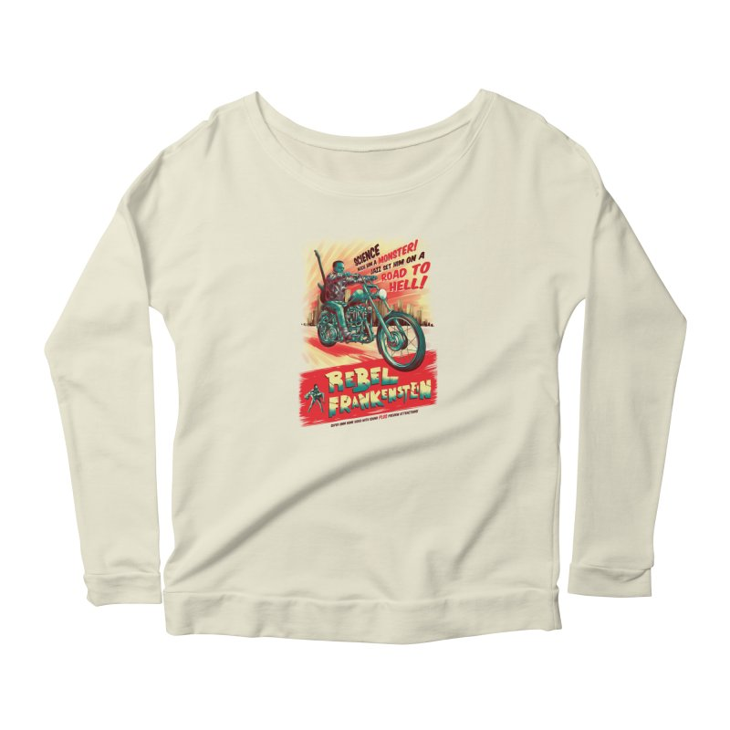 Rebel Frankenstein Women's Longsleeve T-Shirt by David Maclennan