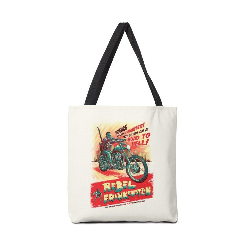 Rebel Frankenstein Accessories Bag by David Maclennan