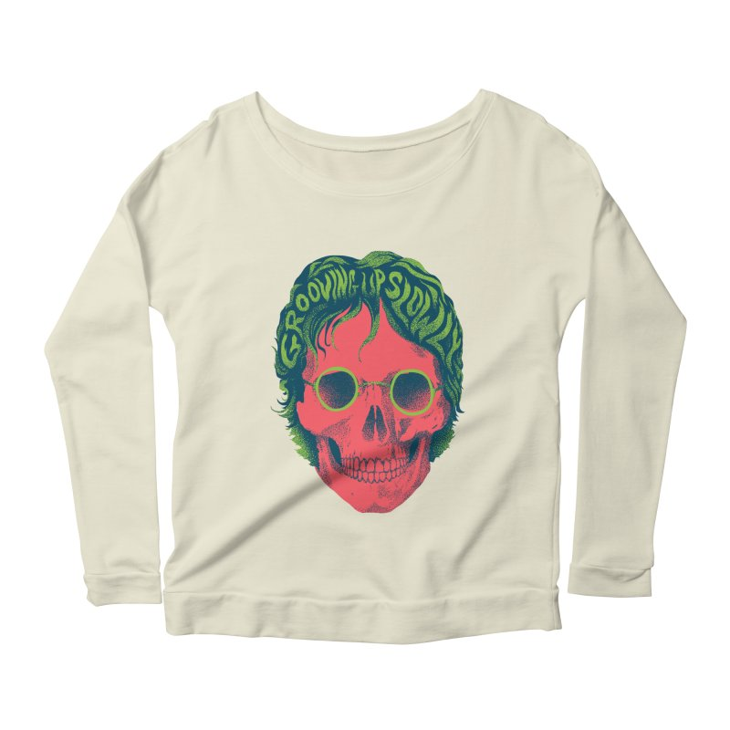 John Women's Scoop Neck Longsleeve T-Shirt by David Maclennan
