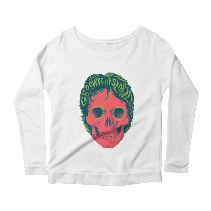 John Women's Scoop Neck Longsleeve T-Shirt by David Maclennan