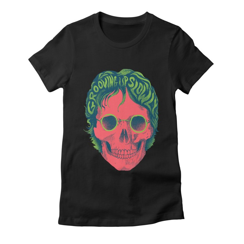 John Women's Fitted T-Shirt by David Maclennan
