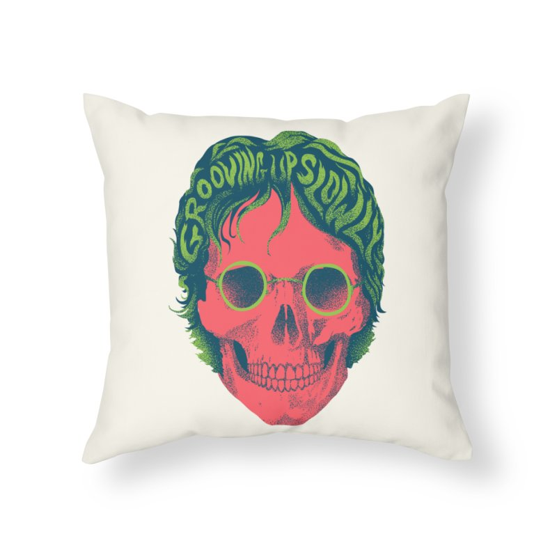 John Home Throw Pillow by David Maclennan