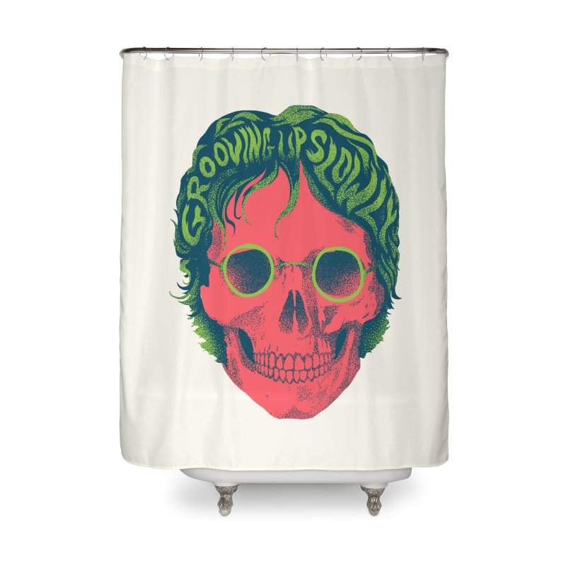 John Home Shower Curtain by David Maclennan