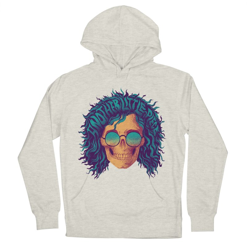 Janis Women's French Terry Pullover Hoody by David Maclennan