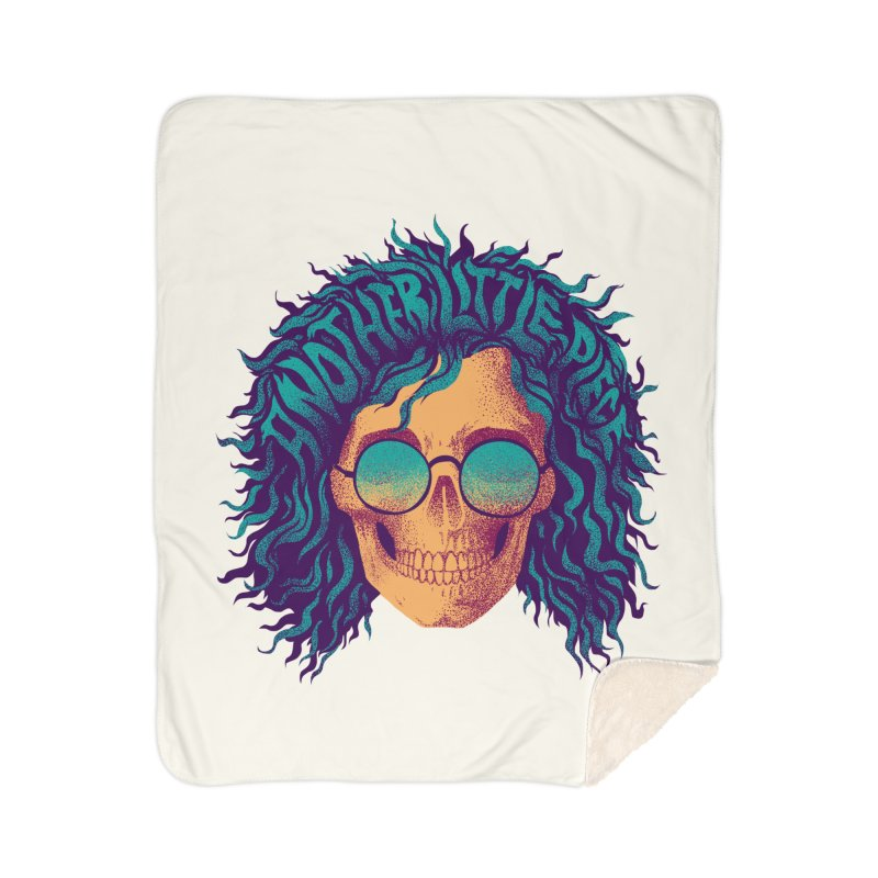 Janis Home Sherpa Blanket Blanket by David Maclennan