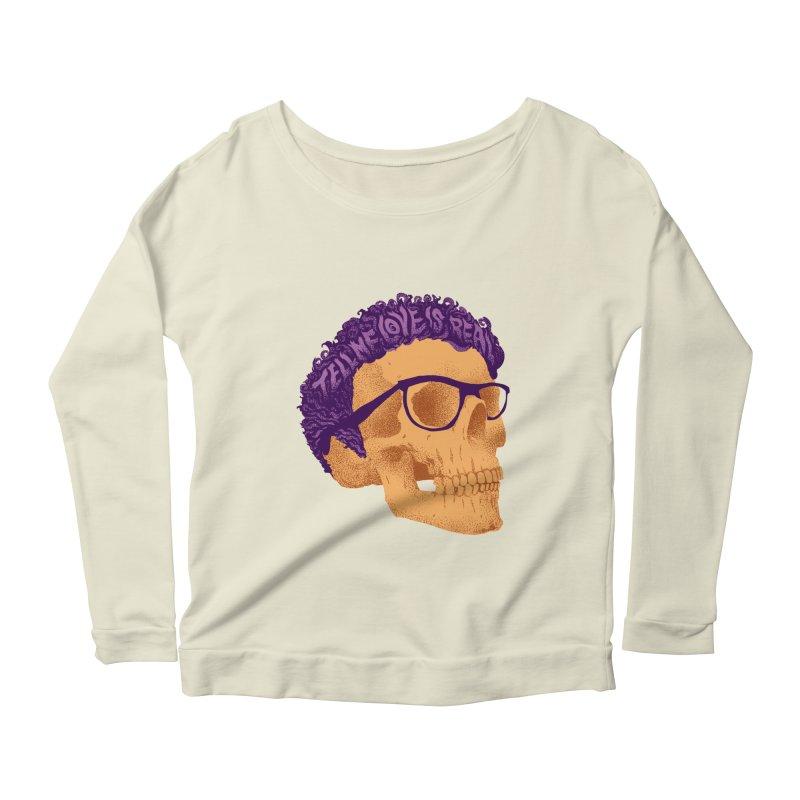 Buddy Women's Scoop Neck Longsleeve T-Shirt by David Maclennan