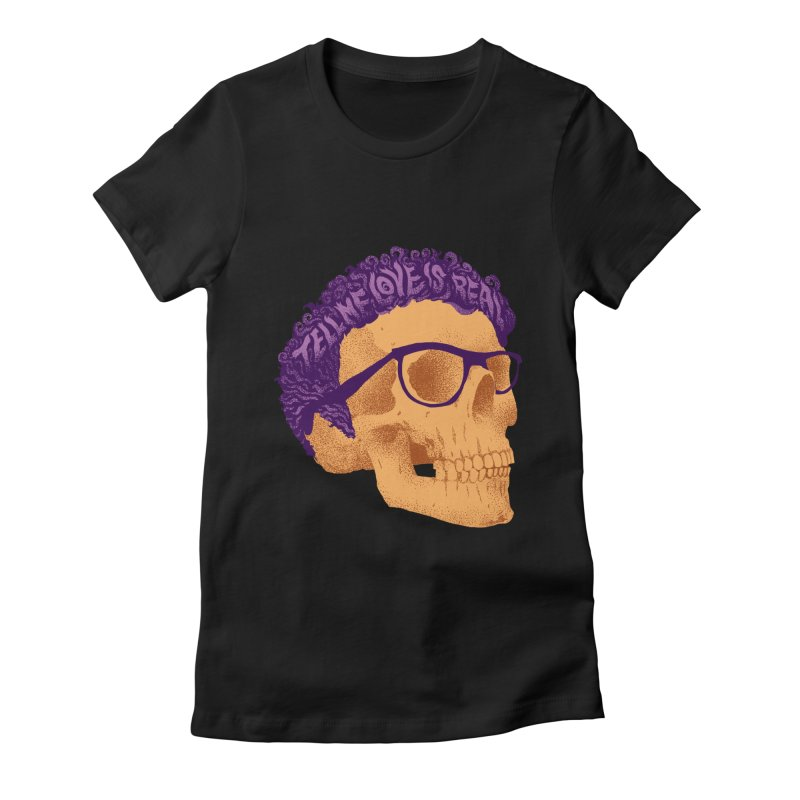 Buddy Women's Fitted T-Shirt by David Maclennan