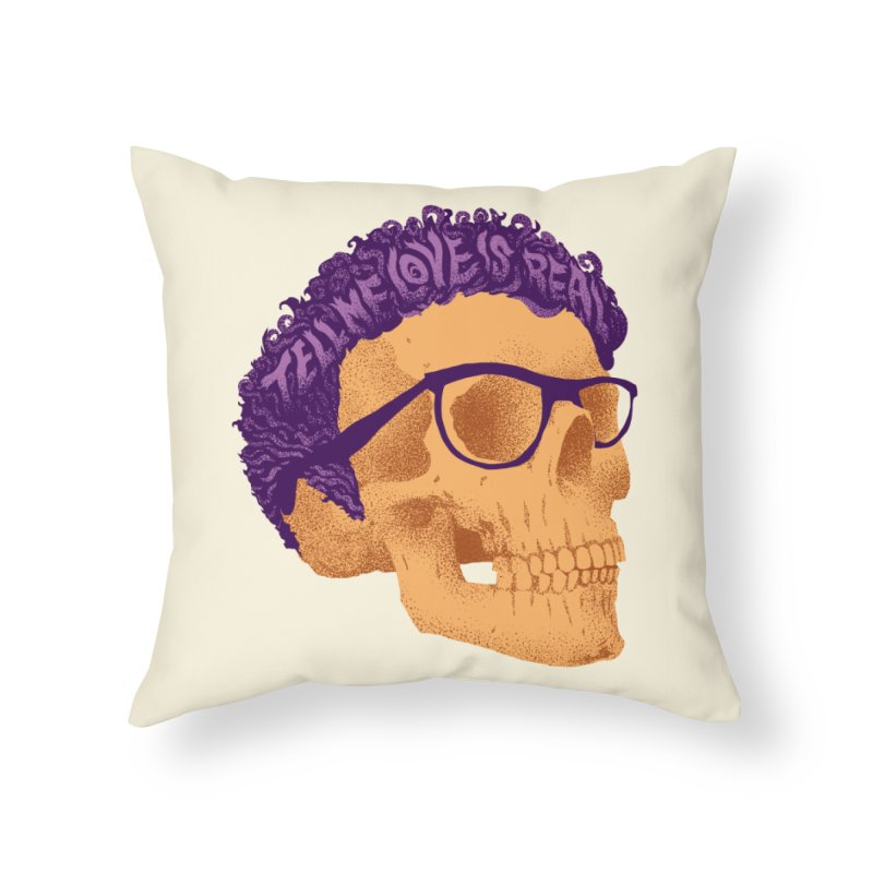 Buddy Home Throw Pillow by David Maclennan