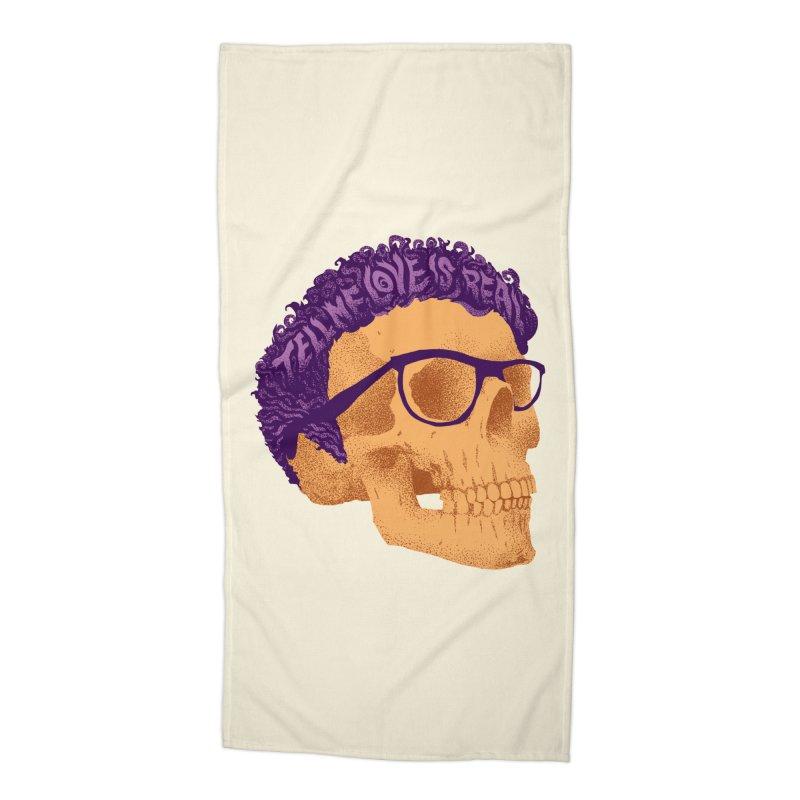 Buddy Accessories Beach Towel by David Maclennan