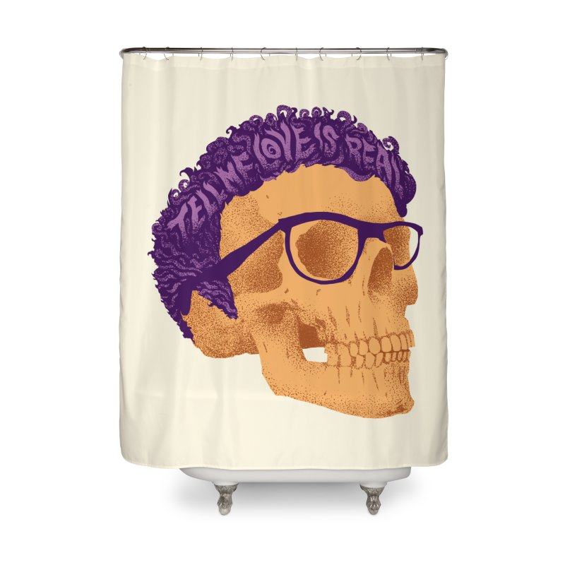 Buddy Home Shower Curtain by David Maclennan