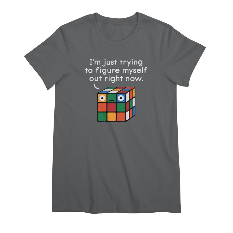 Back To Square One Women's Premium T-Shirt by David Olenick