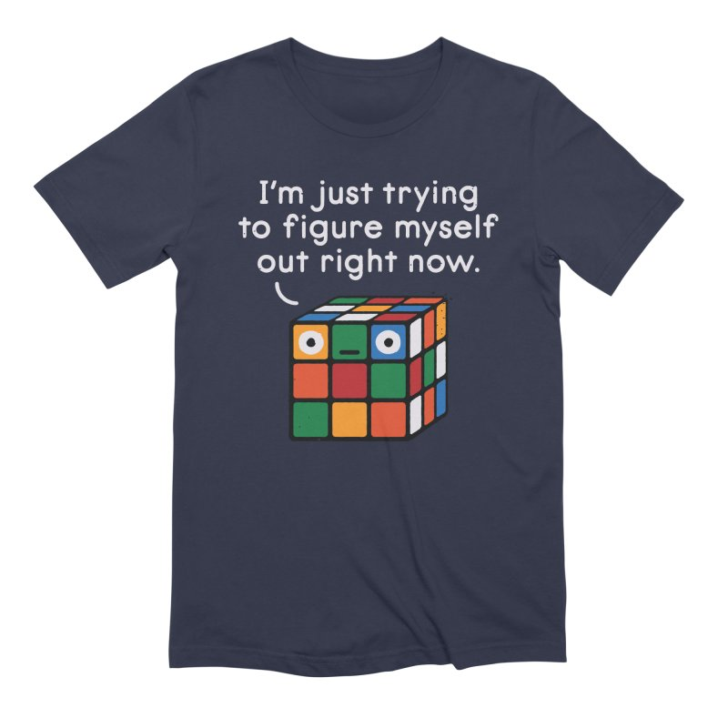 Back To Square One Men's Extra Soft T-Shirt by David Olenick