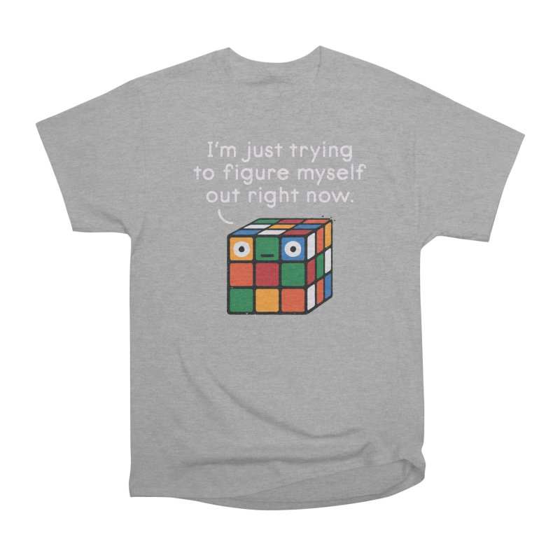 Back To Square One Women's Heavyweight Unisex T-Shirt by David Olenick