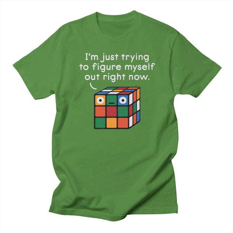 Back To Square One Women's Regular Unisex T-Shirt by David Olenick