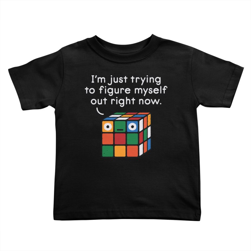 Back To Square One Kids Toddler T-Shirt by David Olenick