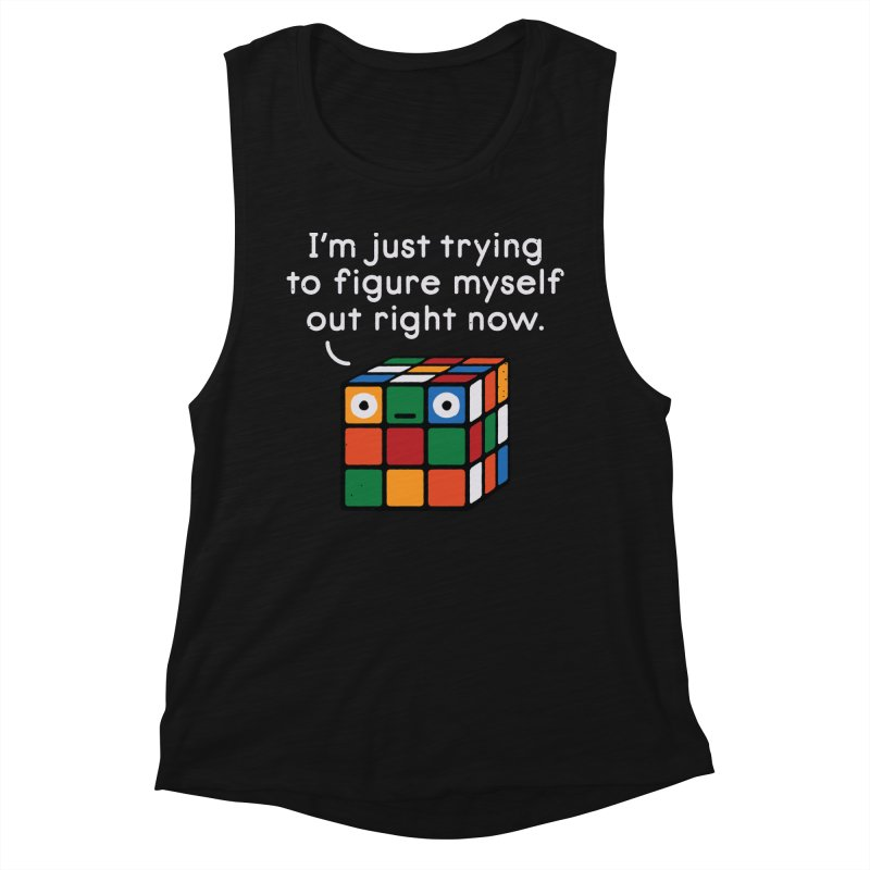 Back To Square One Women's Tank by David Olenick
