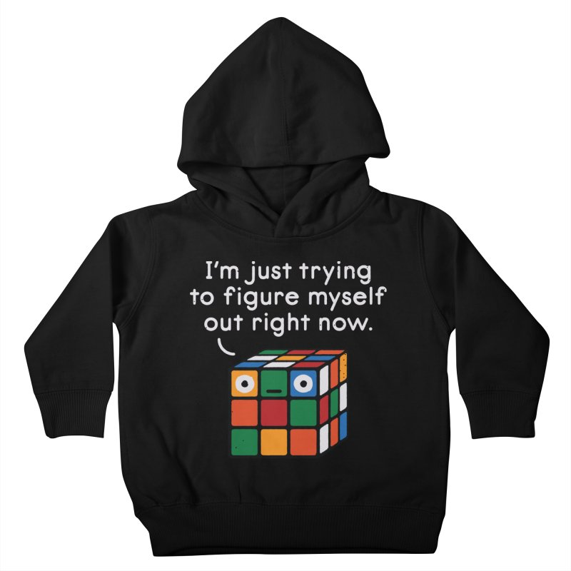 Back To Square One Kids Toddler Pullover Hoody by David Olenick