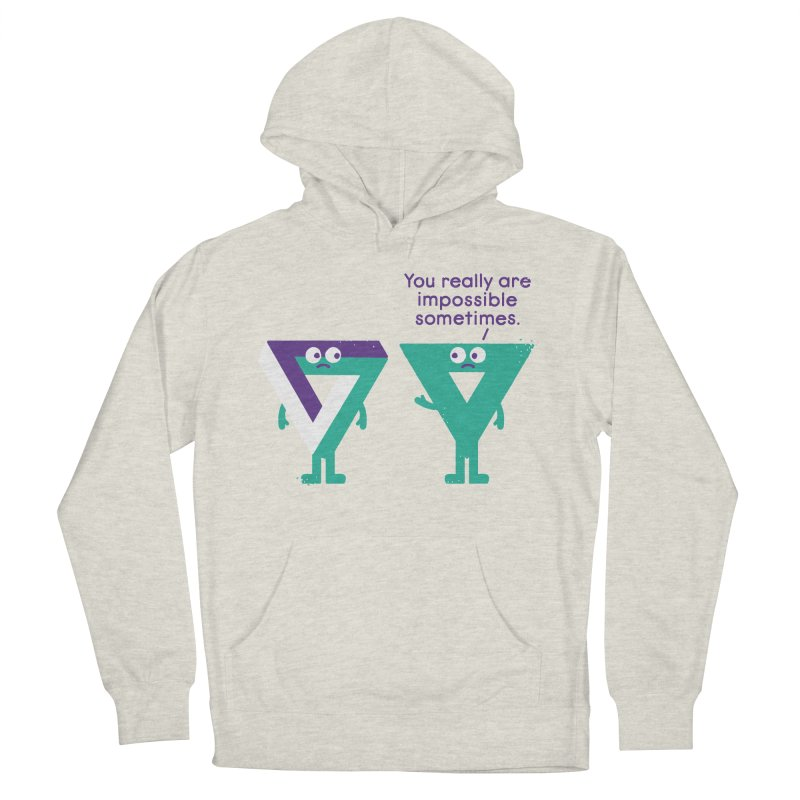 Under No Illusions Women's Pullover Hoody by David Olenick
