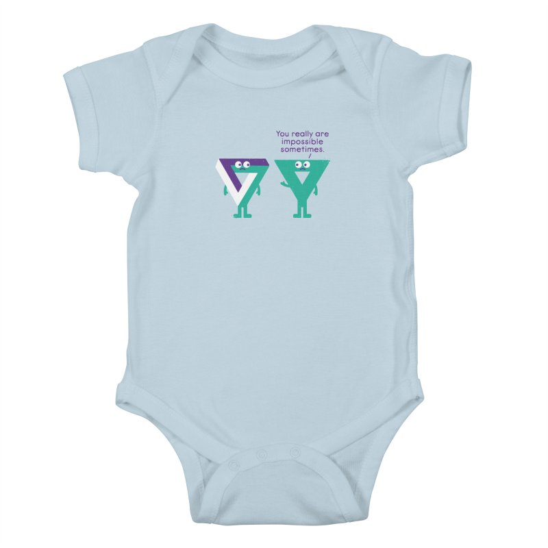 Under No Illusions Kids Baby Bodysuit by David Olenick