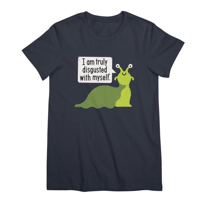 Garden Variety Self-Loathing Women's Premium T-Shirt by David Olenick