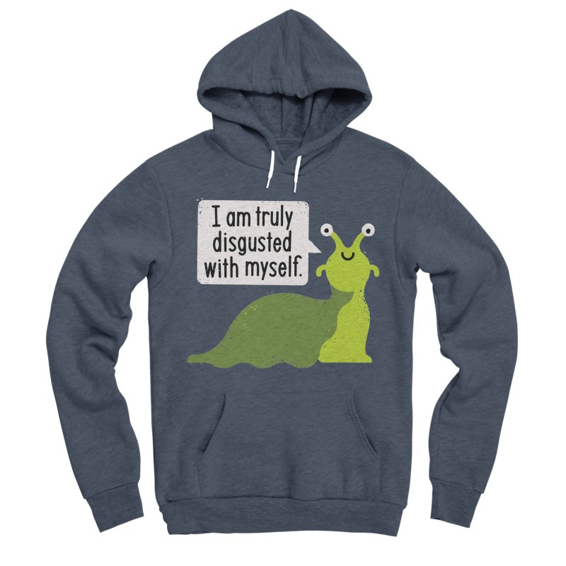 Garden Variety Self-Loathing Men's Sponge Fleece Pullover Hoody by David Olenick