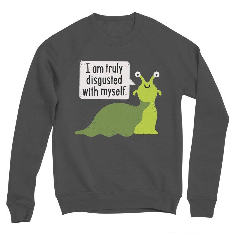 Garden Variety Self-Loathing Men's Sponge Fleece Sweatshirt by David Olenick