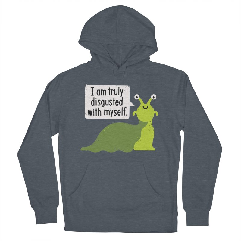 Garden Variety Self-Loathing Women's French Terry Pullover Hoody by David Olenick