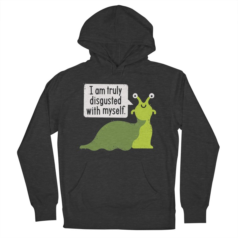Garden Variety Self-Loathing Men's French Terry Pullover Hoody by David Olenick