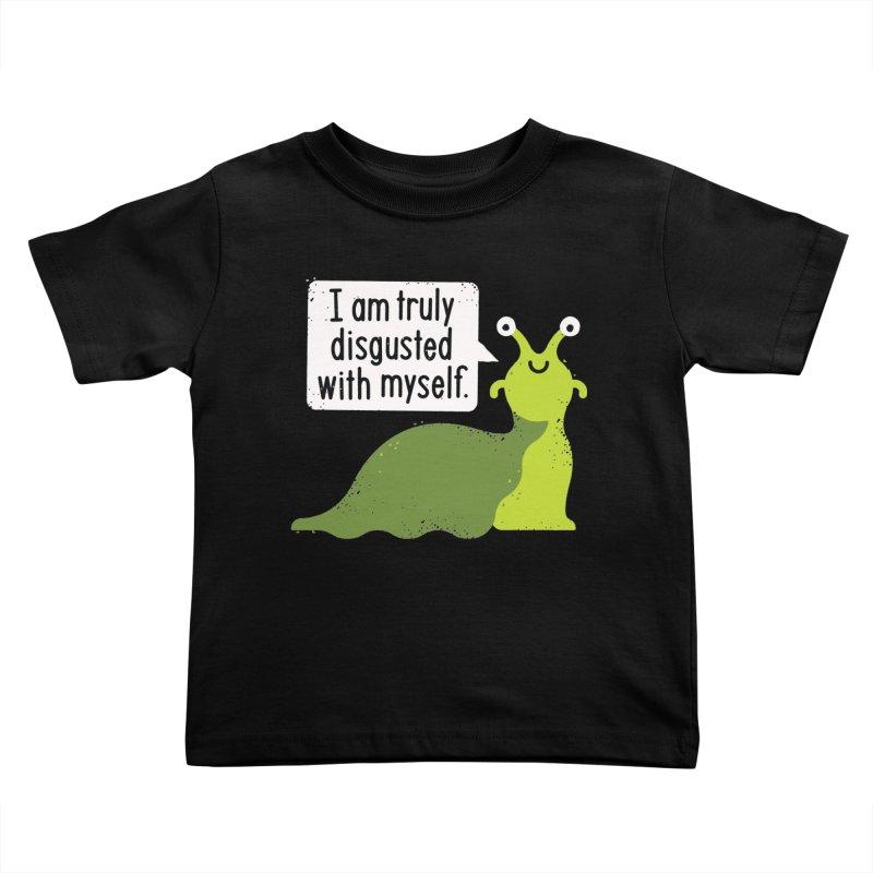 Garden Variety Self-Loathing Kids Toddler T-Shirt by David Olenick