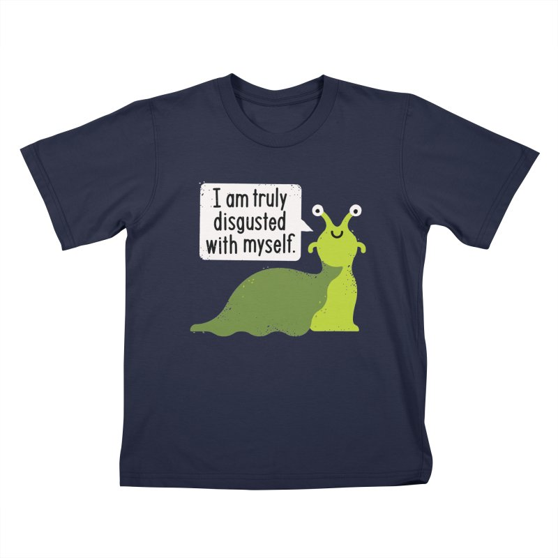 Garden Variety Self-Loathing Kids T-Shirt by David Olenick