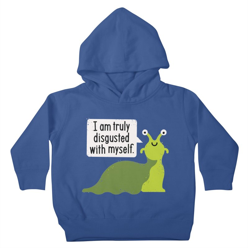 Garden Variety Self-Loathing Kids Toddler Pullover Hoody by David Olenick