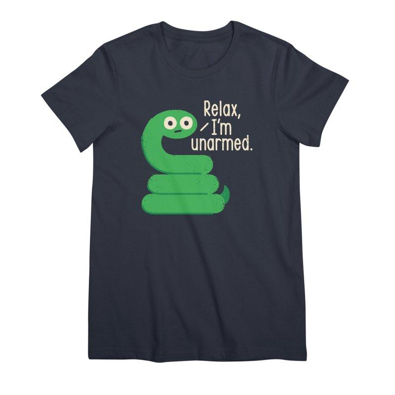 Fangs For Understanding Women's Premium T-Shirt by David Olenick
