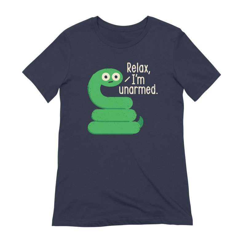 Fangs For Understanding Women's Extra Soft T-Shirt by David Olenick