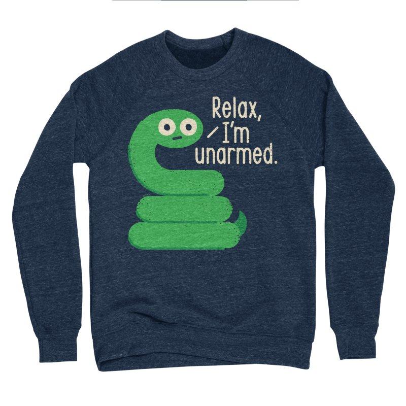 Fangs For Understanding Men's Sponge Fleece Sweatshirt by David Olenick