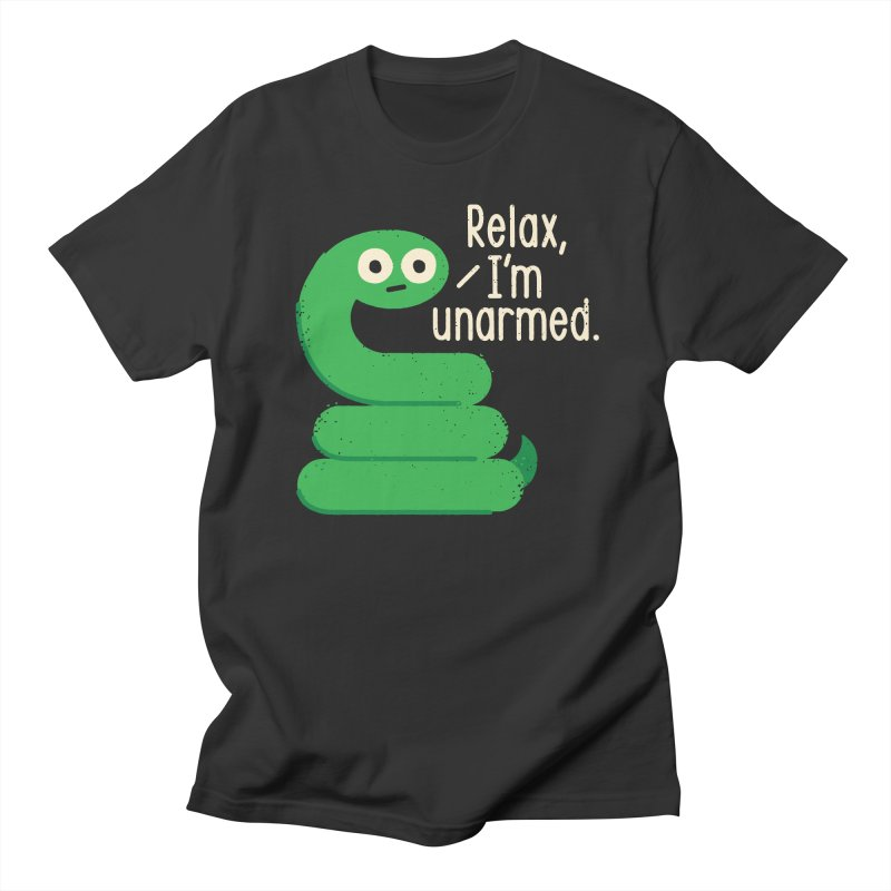 Fangs For Understanding Men's Regular T-Shirt by David Olenick