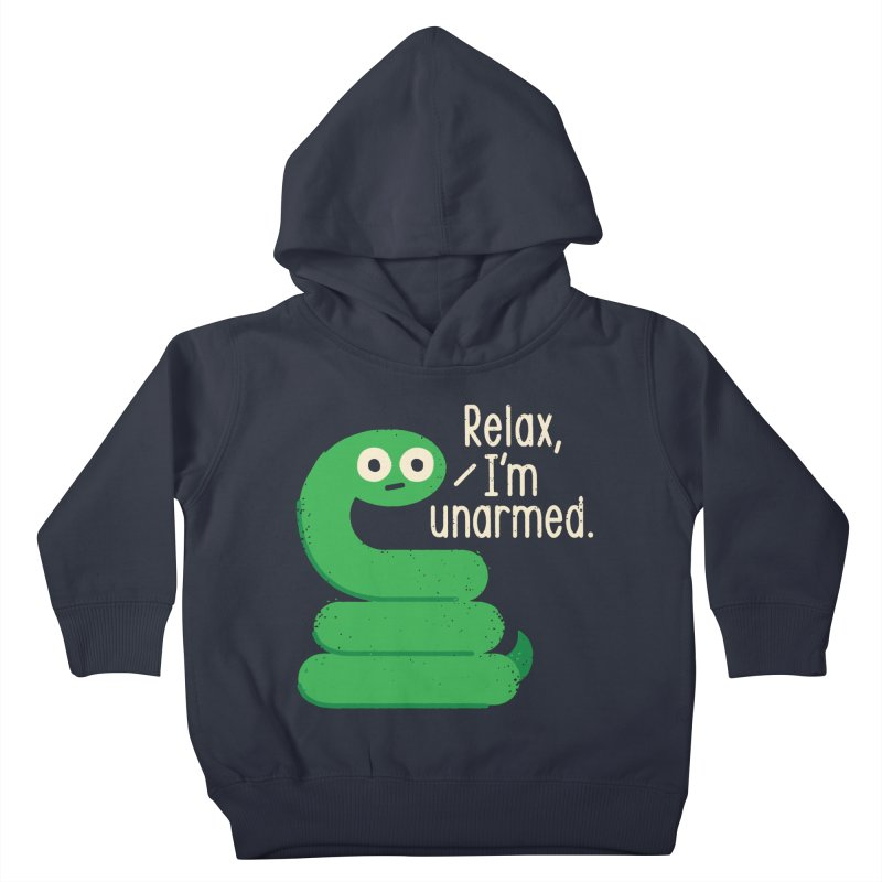 Fangs For Understanding Kids Toddler Pullover Hoody by David Olenick