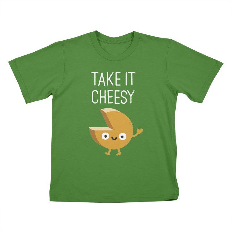Gouda Bye Kids T-shirt by David Olenick