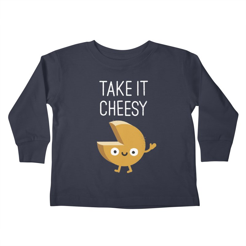 Gouda Bye Kids Toddler Longsleeve T-Shirt by David Olenick
