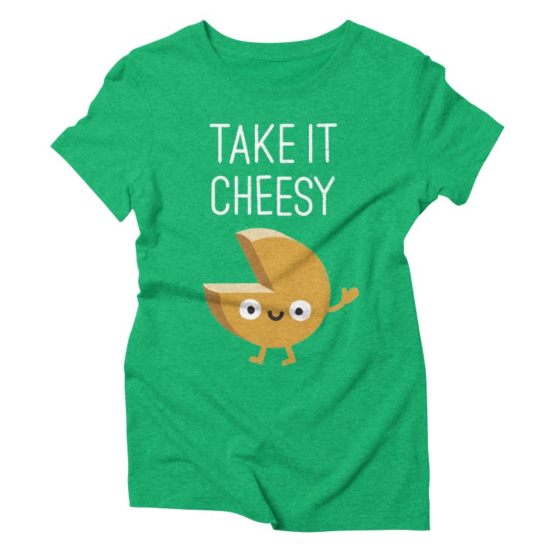 Gouda Bye Women's Triblend T-shirt by David Olenick